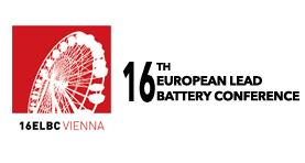 16th European Lead Battery Conference & Exhibition